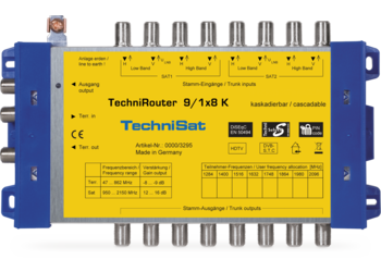TechniRouter 9/1x8 K
