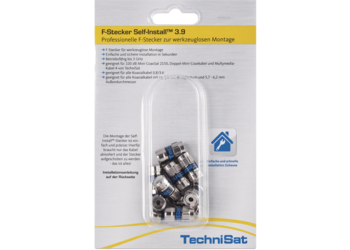 F-Stecker Self-Install™ Pack 3.9