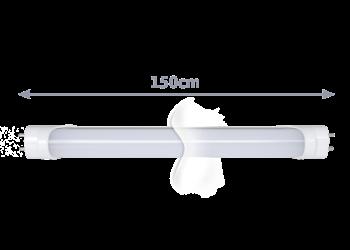 TECHNILUX Tube 150cm, 24W, EVG, dimmbar, milky, neutralweiß