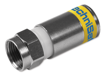 F Compression connector 4.9