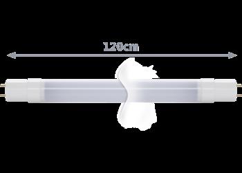 TECHNILUX Tube 120 cm, 18 W, milky, Neutralweiß