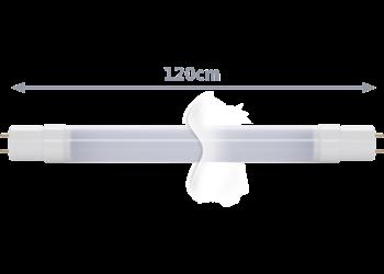 TECHNILUX Tube 120 cm, 18 W, milky, Warmweiß
