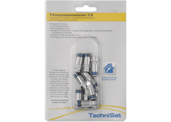 F Compression connector pack 3.9