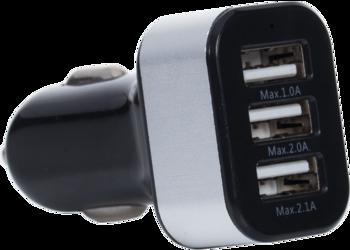 CarCharger Triple USB CE
